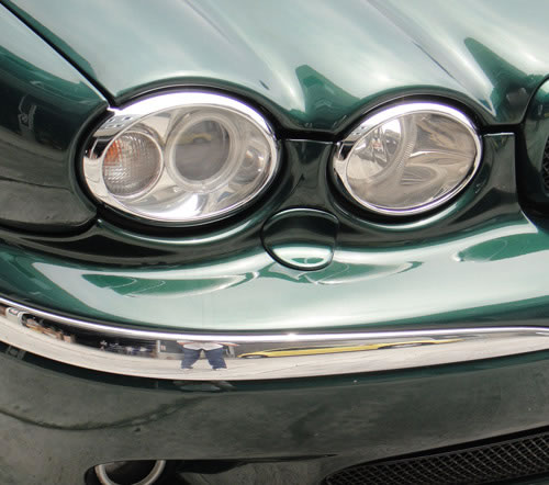 Jaguar X-Type 2001 to 2009  headlight & rear light trims