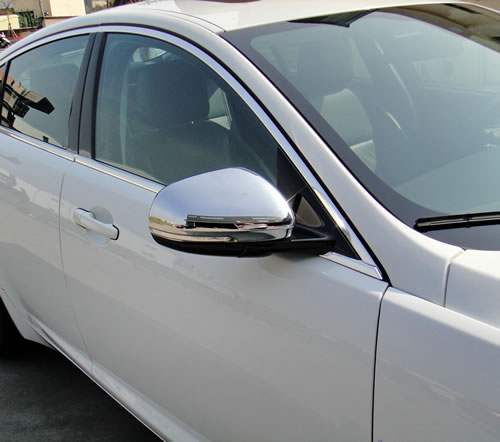 Jaguar XF X250 2008 to 2011 mirror covers