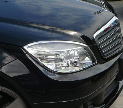 Mercedes CLC CL203 2008-11 headlight trims