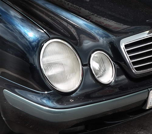 Mercedes CLK W208 1997-2002 headlight trims