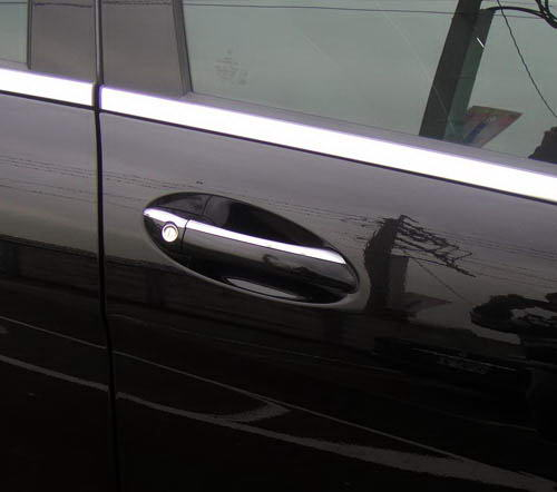 Mercedes ML W164 2008-11 door handle covers