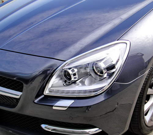 Mercedes SLK R172 2011 onwards headlight trims